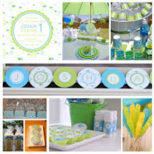 1st Birthday Decoration Ideas At Home Home Design St Birthday Party Themes Lotlaba Boy 1st Bday Party