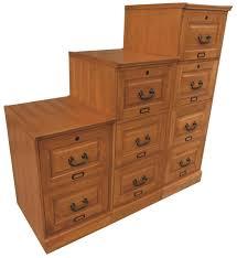 2 Drawer Oak Wood File Cabinet by Oak Two Drawer Oak File Cabinet Antique Harvest