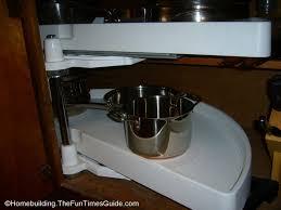 Blind Corner Kitchen Cabinet by Blind Corner Kitchen Cabinet Storage Standard Round Lazy Susan For