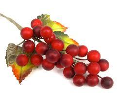 5 artificial red berries grapes christmas wreaths arrangement