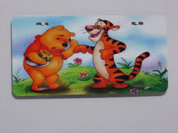 lexus vanity license plate winnie pooh u0026 tigger custom license plate nd mobile plates