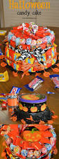 Fun Halloween Cakes How To Make A Halloween Candy Cake About A Mom