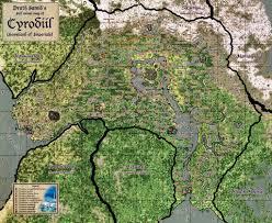 Morrowind Map T E S Iv Cyrodiil Map By Samofsuthsax On Deviantart The Elder