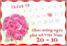 Tin nhắn chúc mừng ngày 20/10 - Sms mừng ngày phụ nữ VN