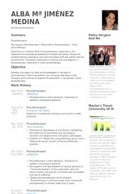 Teamwork Resume Sample by Physiotherapist Resume Samples Visualcv Resume Samples Database