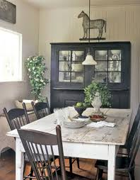 country chic kitchen table bronze nailhead trim accent rectangle