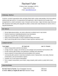 Travel Agent Resume  officer cover letter customer service     happytom co Travel Agent Resume Sample   travel agent resume