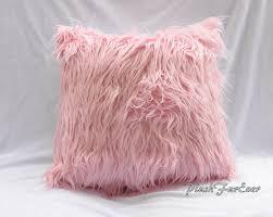 faux fur home decor pillows 18 x 18 inserts