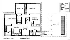 free complete modern house plans