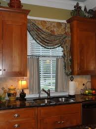 Tuscan Style Kitchen Curtains by Tuscan Style Window Treatments