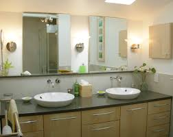 interior cool small bathroom with white marble tile wall and