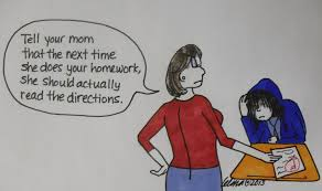 The Correct Way for Parents to Help their Children with Homework     parents homework help students