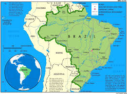 South America River Map by Brazil Regional Power Global Power Opendemocracy