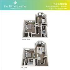 floor plans the fillmore center