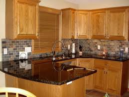 granite countertop colors oak cabinets inspirations including with