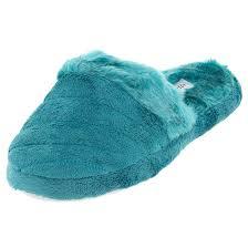 turquoise aerosole slip on slippers for women