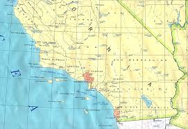Unite States Map by Southern California State Map United States Full Size
