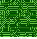 Seamless Background Graphic Depicting Printed Circuit Board ... picturesof.net