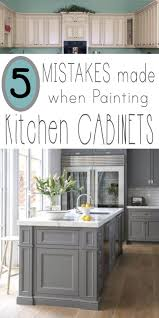 Professional Spray Painting Kitchen Cabinets Mistakes People Make When Painting Kitchen Cabinets Painting