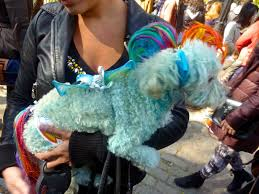 diary of a mad hausfrau east village halloween costume dog parade