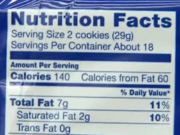 to learn how to lose weight fast we found oreo cookie nutrition