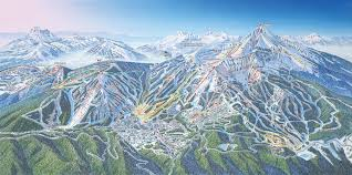 Big Map Of The United States by Big Sky Resort Expands To 5800 Acres