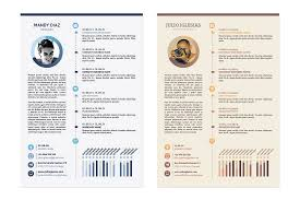 Examples Of Creative Resumes by The Best Cv U0026 Resume Templates 50 Examples Design Shack
