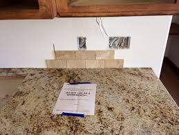Cream Subway Tile Backsplash by Kitchen Backsplash