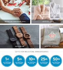 anniversary gifts wedding anniversary gifts gifts com