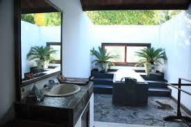 bathroom incredible outdoor bathroom ideas with neutral green
