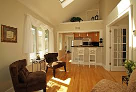 top kitchen and living room together on home decoration for