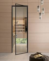 Office Door Design Hinged Glass And Aluminium Door G Like Gidea Transparent
