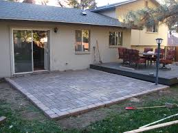 Brick Paver Patterns For Patios by How To Build A Paver Patio On A Cement Slab Part 3 U2013 Sand And
