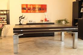 Pool Table In Dining Room by Baker Stainless Dining Pool Table Dallas Texas Contemporary