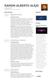 Retail Sales Associate Resume Samples   VisualCV Resume Samples     VisualCV Retail Sales Associate Resume Samples
