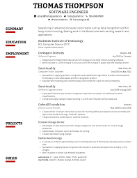 Resume Samples Of Software Engineer by Creddle