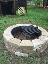 home design cinder block fire pit grill building supplies