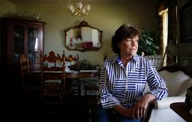 the 89 pay cut that brought trump mania to america s heartland city councilwoman beverly anderson sits for a portrait in the living room of her home in
