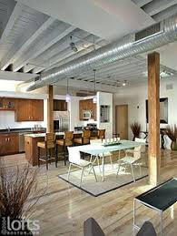 Black Ceiling Basement by Basement Remodel Floor Plan With Exposed Ductwork Industrial