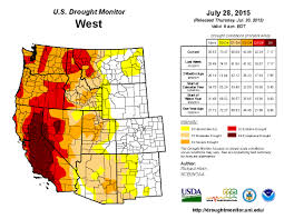 Drought Map Usa by Drought Is The