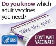 Recommended Vaccines for Adults   CDC Adult Immunization Schedule