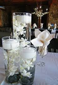 Purple Floating Candles For Centerpieces by Centerpiece With Floating Candles Can Put Purple Stones At The