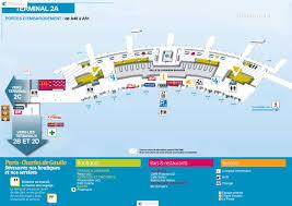 Charles De Gaulle Airport Map аэропорта парижа шарль де голь терминал 2a Cdg Charles De