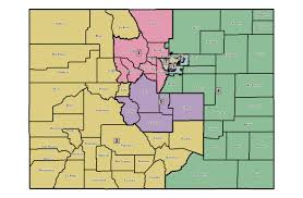 Map Of Colorado by New Democratic Map The Spot