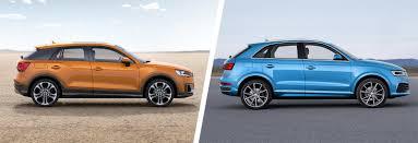 lexus vs audi q3 audi q2 vs q3 u2013 suv comparison carwow