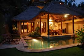 Vintage Home Design Plans Excellent Balinese Home Design With Natural Roofing Style And