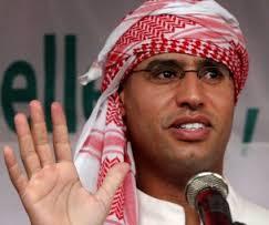 Il figlio di Gheddafi Sayf al-Islam