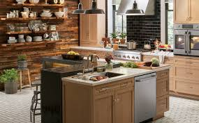 Rustic Kitchen Backsplash Beige Subway Tile Backsplash View Full Size Brown Travertine Mix