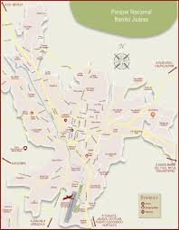 Map Of Juarez Mexico by