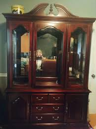 solid cherry wood dining room hutch for thomasville impressions